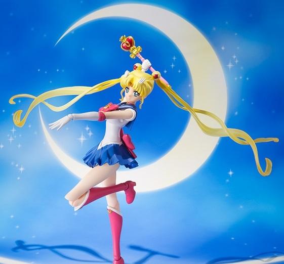 S.H.Figuarts Sailor Moon: Super Sailor Moon - Action Figure image