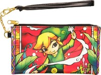 Zelda Clear Envelope with Wrist Strap