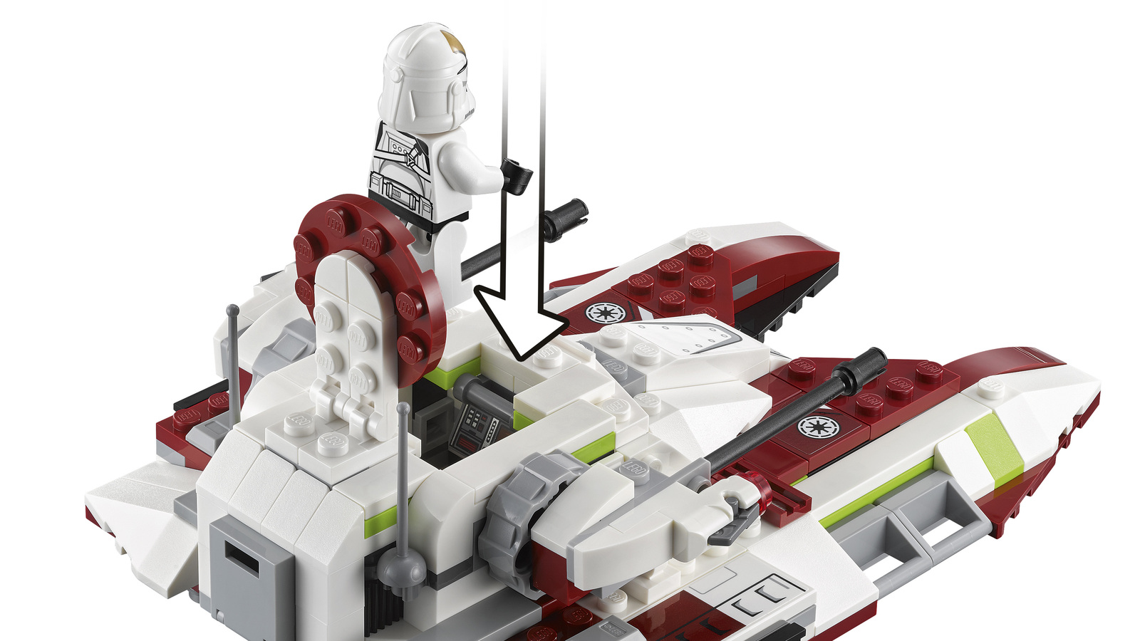 LEGO Star Wars - Republic Fighter Tank (75182) image