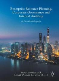 Enterprise Resource Planning, Corporate Governance and Internal Auditing by Hany Elbardan image