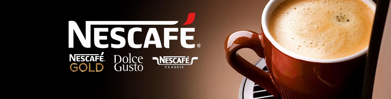 Enjoy a cuppa with our Nescafe coffee range