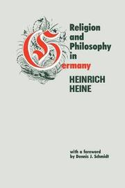 Religion and Philosophy in Germany by Heinrich Heine