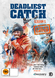Deadliest Catch - The 5th Season (Includes After The Catch Season 5) (6 Disc Set) on DVD