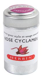 J Herbin: Tin of 6 Universal Cartridges - Rose Cyclamen