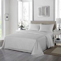 Royal Comfort 1200 Thread Count Ultrasoft 4 Piece Sheet Set - Queen - Silver image