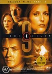 X-Files, The Season 9 Part 1 (3 Disc) on DVD