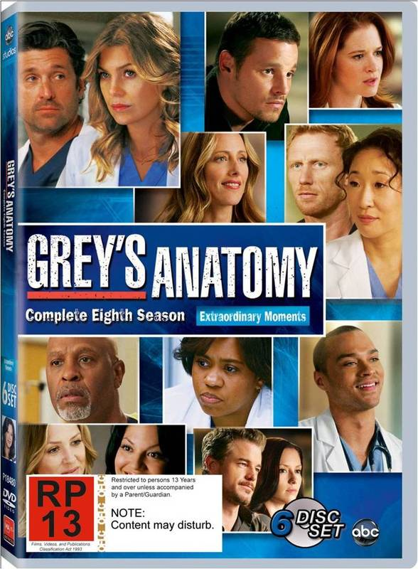 Grey\'s Anatomy - Season 8 | DVD | In-Stock - Buy Now | at Mighty Ape NZ