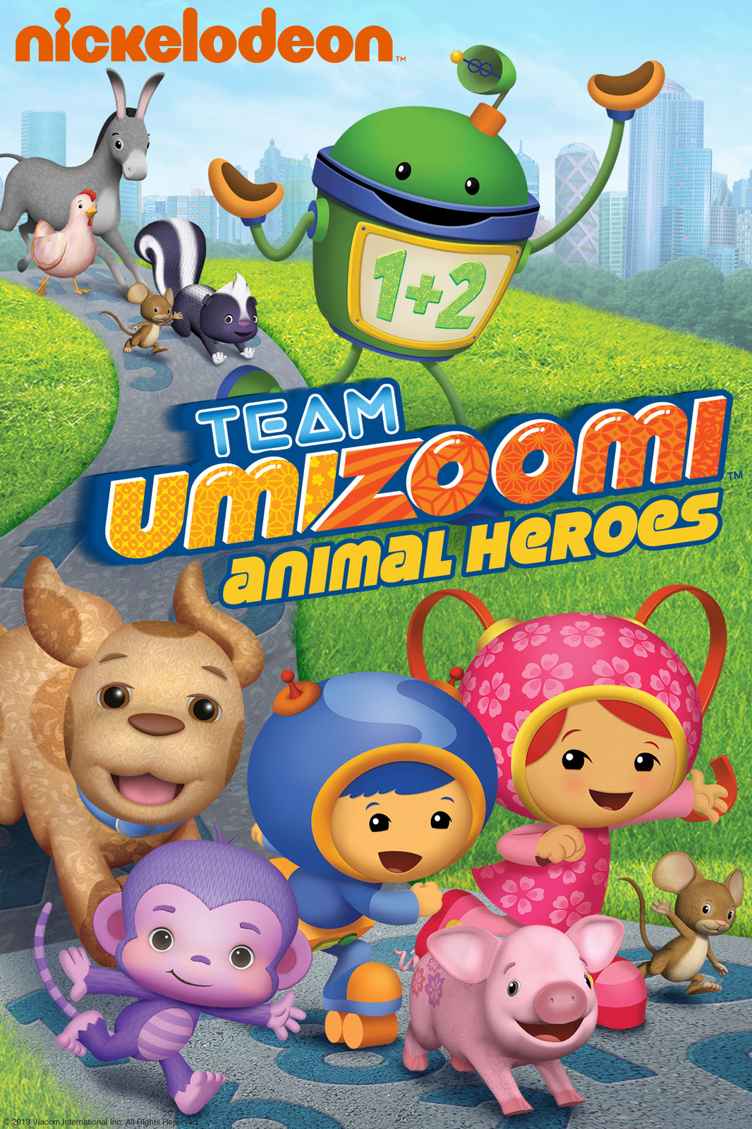 Team Umizoomi: Animal Heroes on DVD image