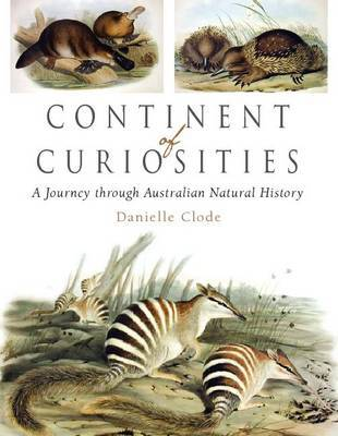 Continent of Curiosities by Danielle Clode