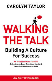 Walking the Talk by Carolyn Taylor