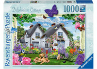 Ravenburger - Delphinium Cottage Puzzle (1000pc)