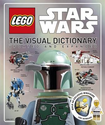 Lego Star Wars: The Visual Dictionary (Updated & Expanded, incl Minifigure!) by DK