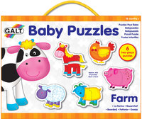 Baby Puzzle: Farm Animals - by Galt