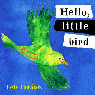 Hello Little Bird Board Book by Petr Horacek