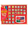 Melissa & Doug: Favorite Things Wooden Stamp Set