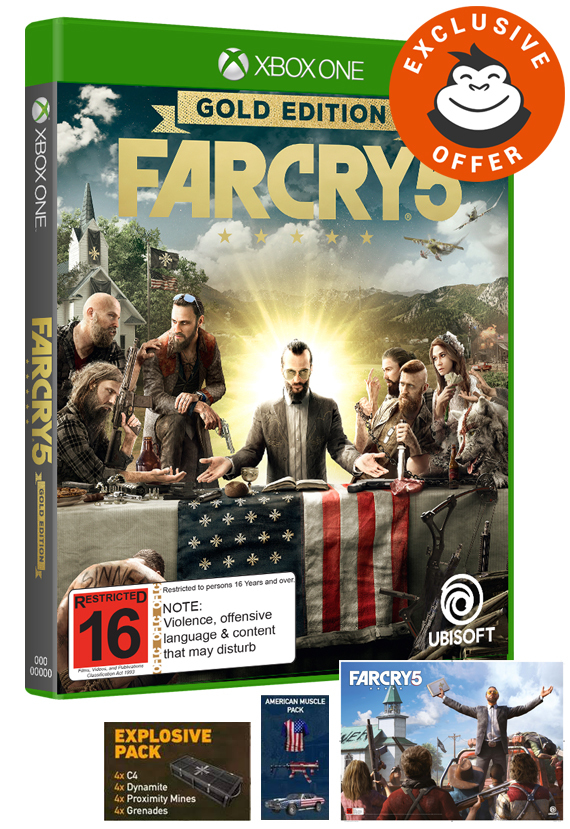 Far Cry 5 Gold Edition for Xbox One image