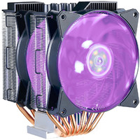 Cooler Master MasterAir MA620P RGB CPU Cooler with 2 X 120MM RGB LED PWM Fan, 6 Heat Pipes / Direct