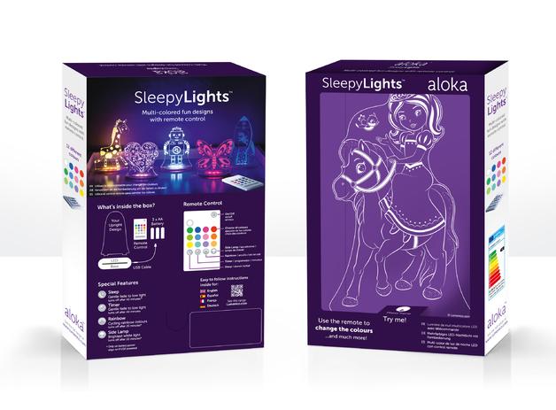 Aloka: Night Light - Princess & Pony