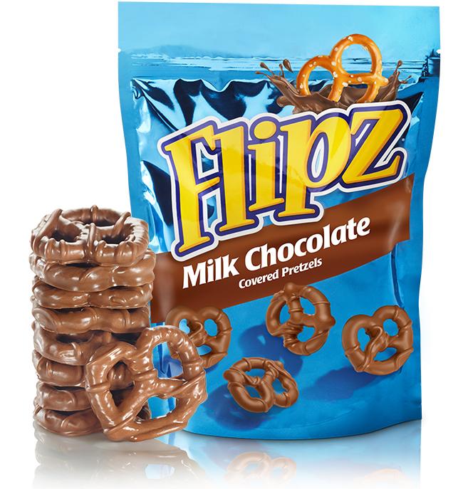 Flipz: Milk Chocolate Pretzels 130g image
