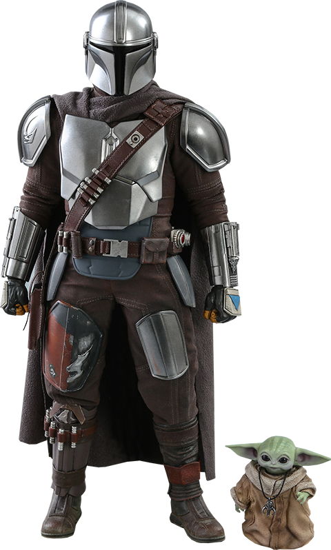 """Star Wars: The Mandalorian & The Child - 12"""" Articulated Figure Set"""