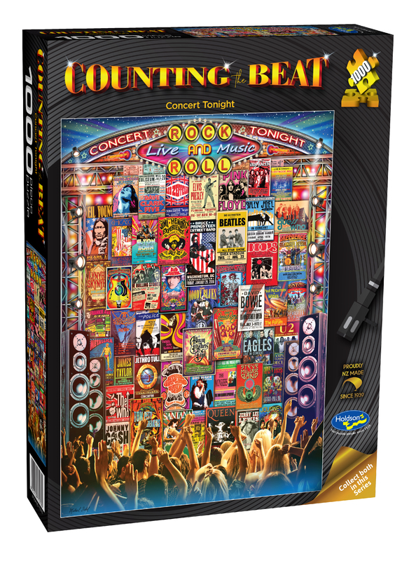 Holdson: 1000 Piece Puzzle - Counting The Beat (Concert Tonight)
