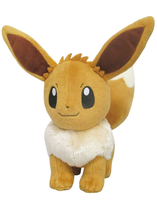 Pokemon: Eevee (Female) - Small Plush