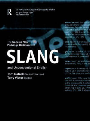 The Concise New Partridge Dictionary of Slang and Unconventional English image