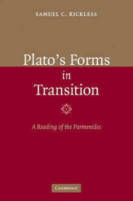 Plato's Forms in Transition by Samuel C. Rickless image