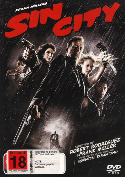 Sin City on DVD image