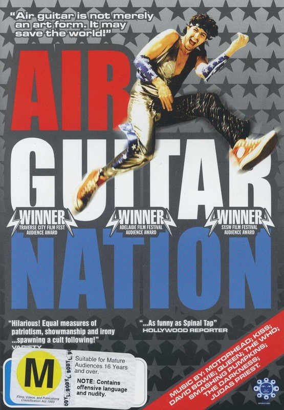 Air Guitar Nation on DVD