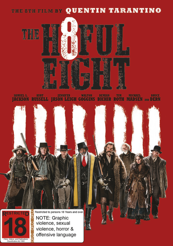 The Hateful Eight on DVD
