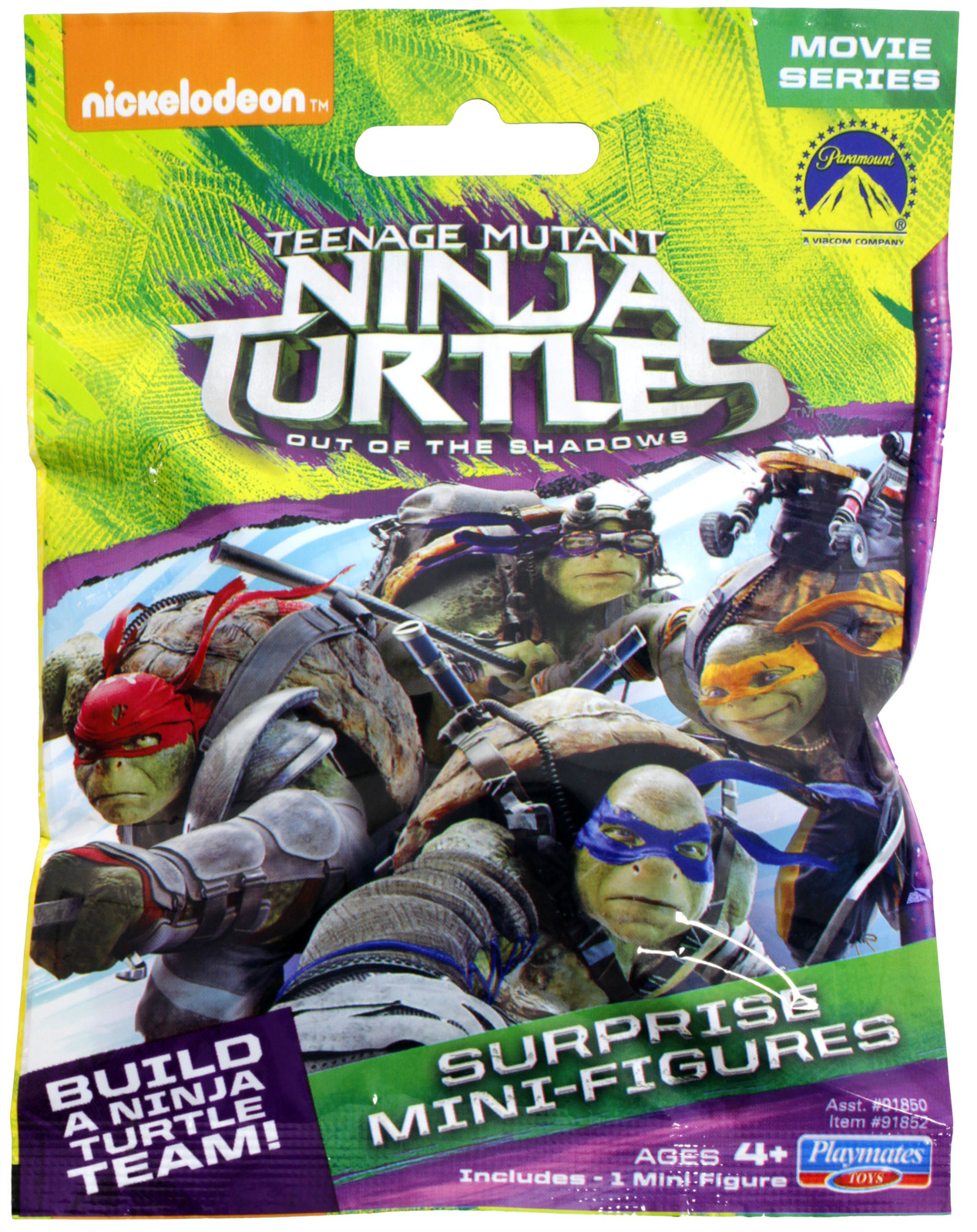 Mega Bloks Teenage Mutant Ninja Turtles Suprise Mini