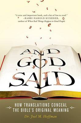 And God Said by Joel M Hoffman