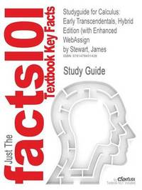 Studyguide for Calculus by James Stewart