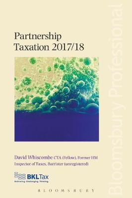 Partnership Taxation 2017/18 by David Whiscombe