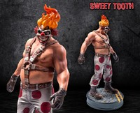"Twisted Metal: Sweet Tooth - 13.5"" Statue"