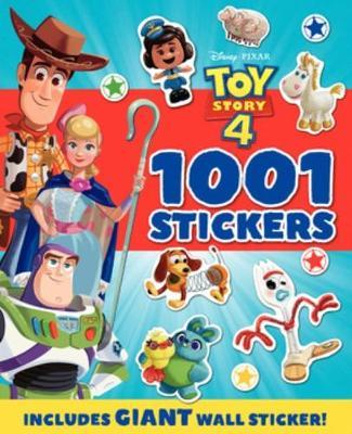 Toy Story 4: 1001 Stickers Book