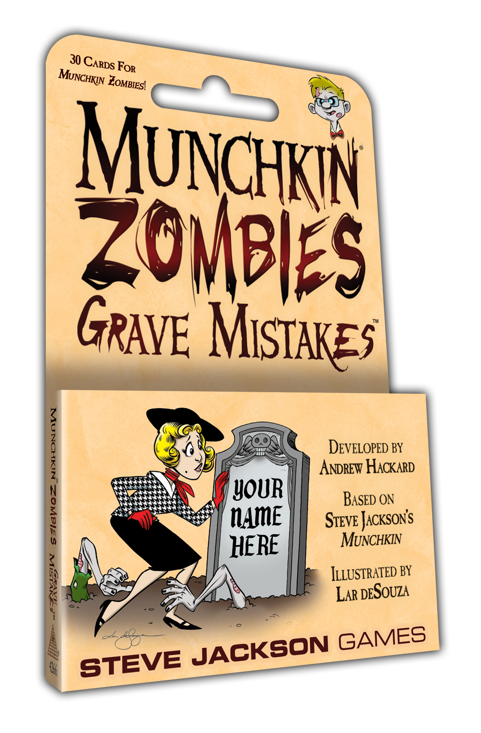 Munchkin: Zombies: Grave Mistakes - Expansion image