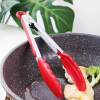 Ape Basics: Stainless Steel Cooking Tongs (Set of 2) image
