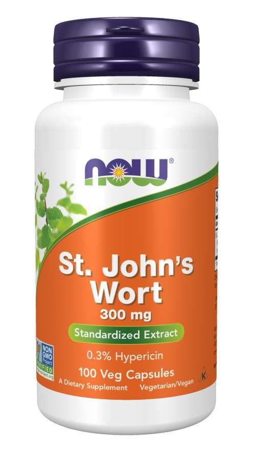Now: St.John's Wort Veg Capsules - 300mg image