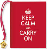 Keep Calm and Carry on by Evelyn Beilenson