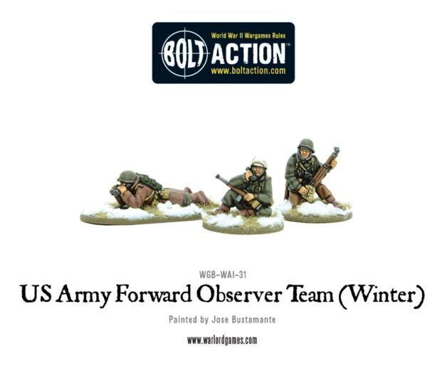 US Army Forward Observer team (Winter)