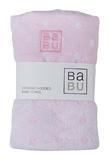 Babu: Muslin Terry Towel - Pink