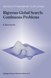 Rigorous Global Search: Continuous Problems by R.Baker Kearfott
