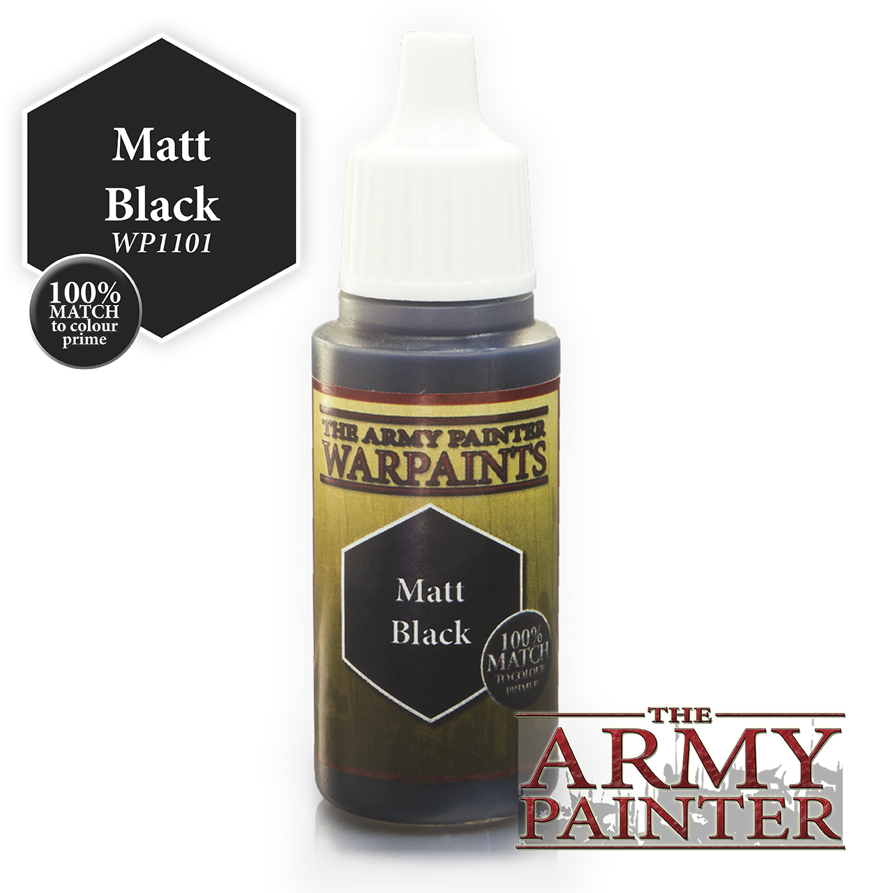 Matt Black Warpaint image