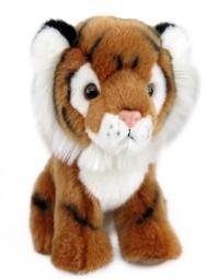Antics Wildlife: Brown Tiger Sitting Plush (20cm)