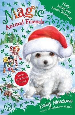 Magic Animal Friends: Holly Santapaws Saves Christmas by Daisy Meadows image