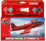 Airfix: 1/72 Hunting Percival Jet - Small Starter Set