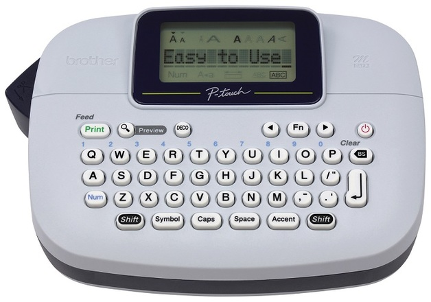 Brother: PTM95 P-Touch - Personal Labelling Machine