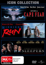 Cape Fear (1991) / Sleepers / Midnight Run (Robert De Niro Movie Collection) (3 Disc Set) on DVD
